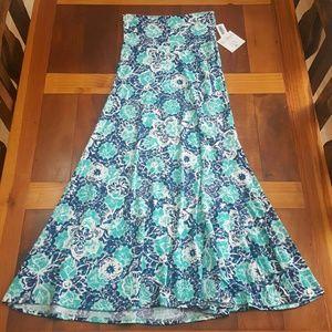 NWT LuLaRoe Maxi Skirt size XS